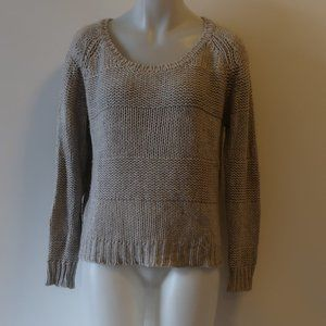 360 SWEATER GREY PULLOVER SWEATER XS *